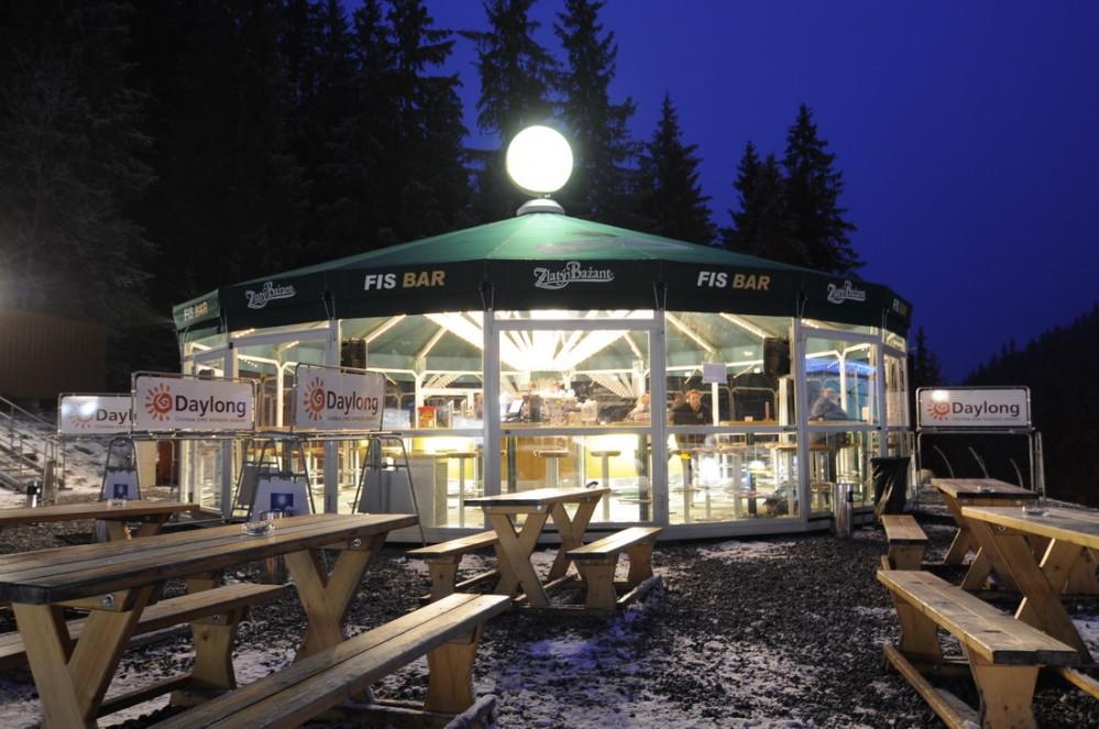 FIS bar Záhradky - Raštaurácia Chopok sever