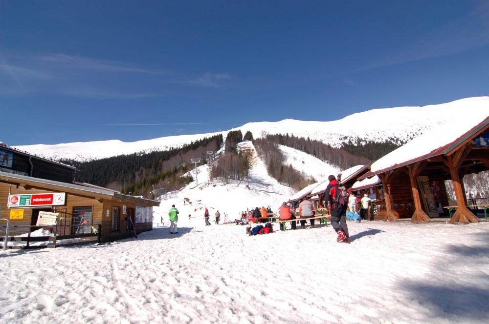 Apres ski bar Srdiečko - Reštaurácia Chopok juh