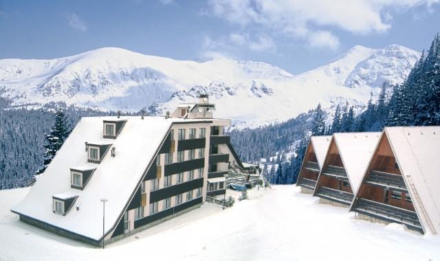 Hotel SKI & FUN** a bungalowy - Ubytovanie Jasná Nízké Tatry - Chopok sever