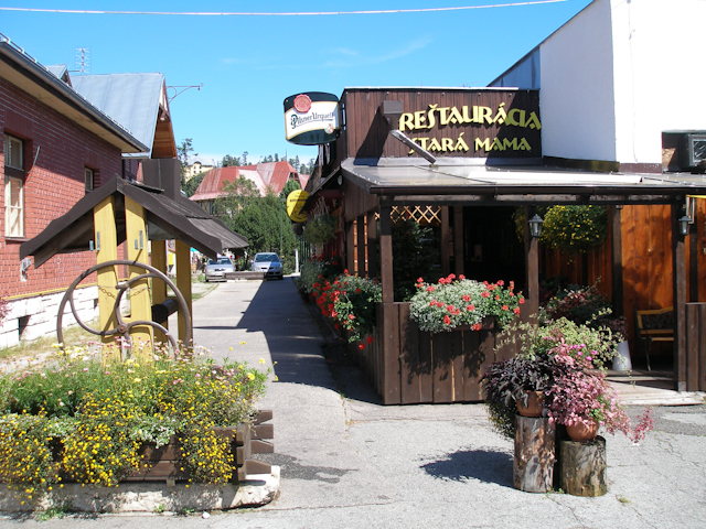 Reštaurácia Statá mama - Reštaurácia v Tatranskej Lomnici
