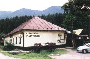 Starý Majer - Reštaurácia vo Vrátnej Free Time Zone